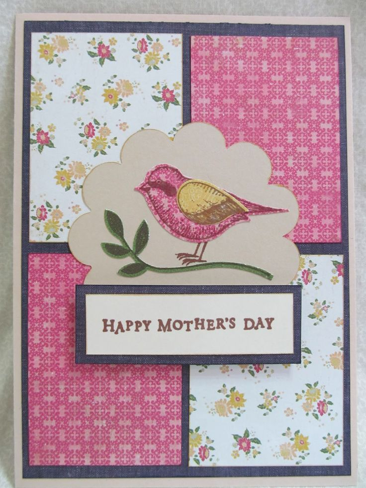 Mothers day cards handmade savvy handmade cards mother Good ideas for mothers day card