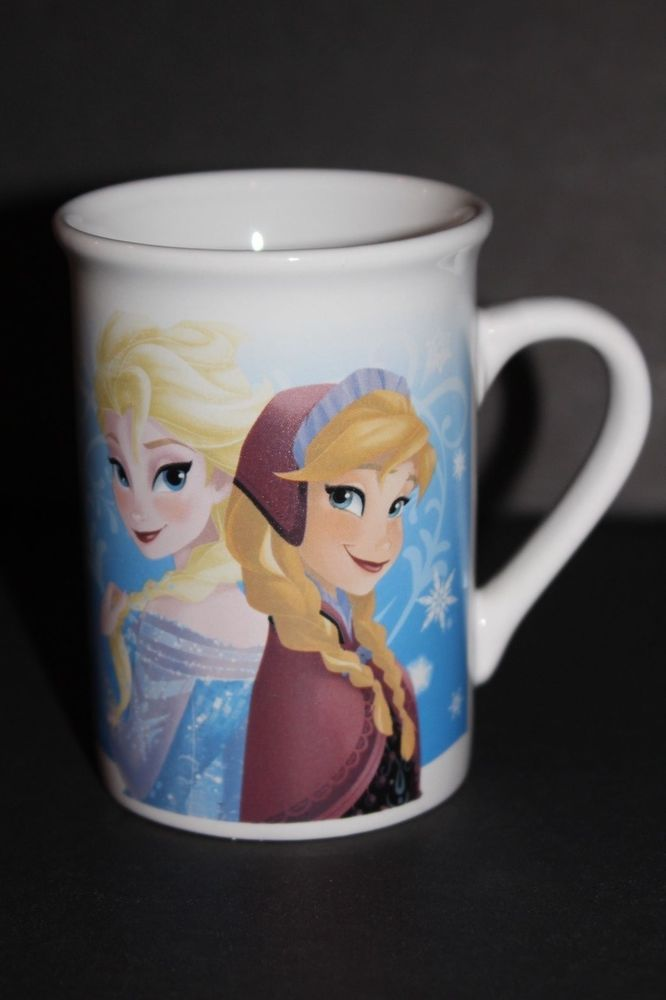 Disney Frozen ANNA ELSA OLAF Coffee Tea Cocoa Mug Cup Authentic Disney  #Disney