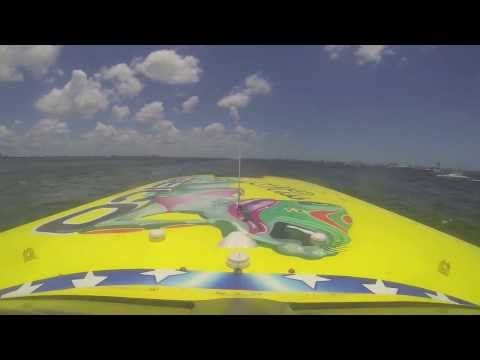 Take a ride with Miss Geico Racing Offshore Powerboat. Seconds from Disaster  Miss Geico Raceboat