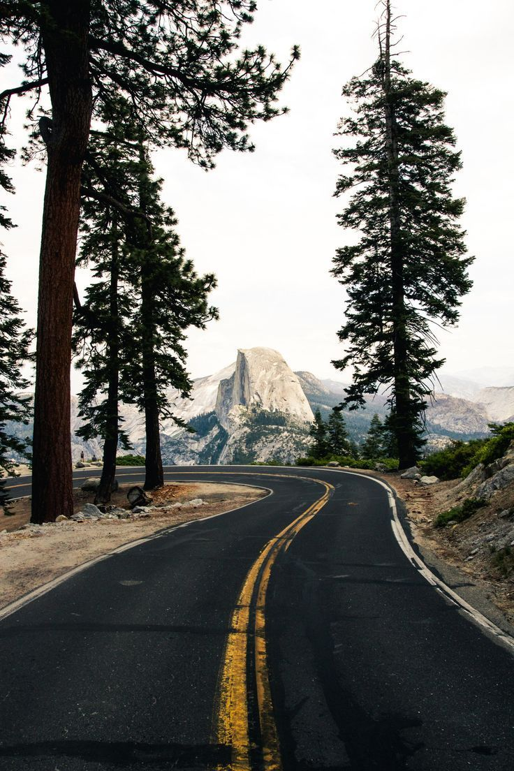 Glacier Point Road, Yosemite |