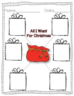 Miss Kindergarten: Christmas ideas - her site has tons of ideas for other times of the year!
