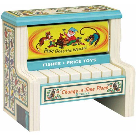 Fisher Price Change a Tune Piano, Multicolor
