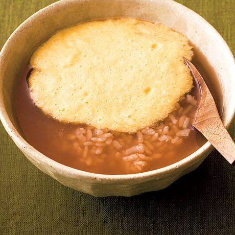 とろろ茶がゆ   橋本玲子さんのごはんの料理レシピ   プロの簡単料理レシピはレタスクラブネット