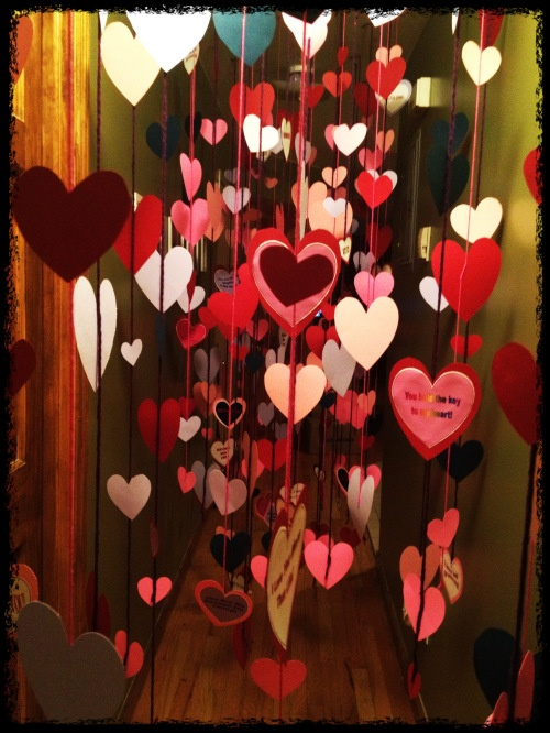 valentine's day morning - such a fun idea, would be great to do for your kids!
