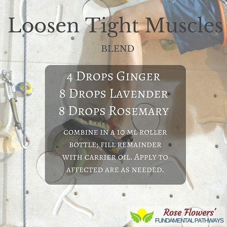 Loosen those tight muscles with this amazing blend!! I always have my oils on hand for whatever life throws my way. #essentialoils