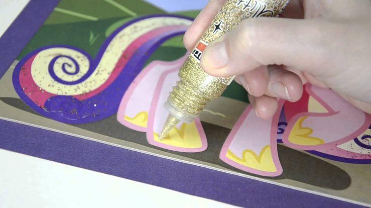 Csillámtoll és Csillám zselé // Glitter Pen and Glitter Gel