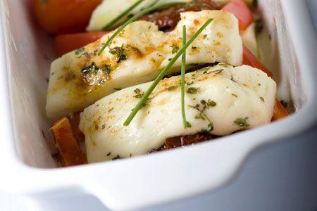 Φέτα στο αλουμινόχαρτο με αρωματική σάλτσα - Γρήγορες Συνταγές   γαστρονόμος online