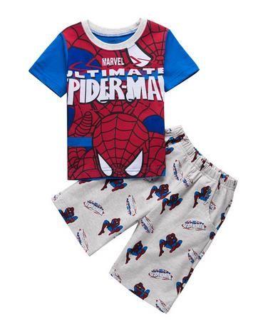 >> Click to Buy << Summer new Baby Pajamas Cartoon Children's Pijamas Kids Boys Girls Pyjamas Batman Spiderman Superman Clothing Sets Top + Pants #Affiliate
