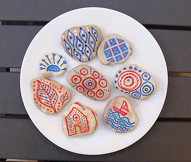 Rock Painting Craft