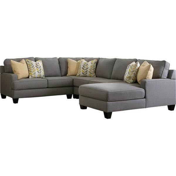 Chamberly 4 Piece Raf Sectional, Ashley Furniture Sectional Sofas Canada