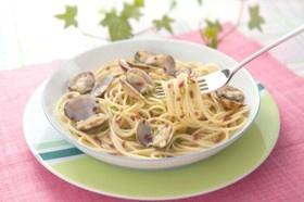梅風味のあさりスパゲッティー