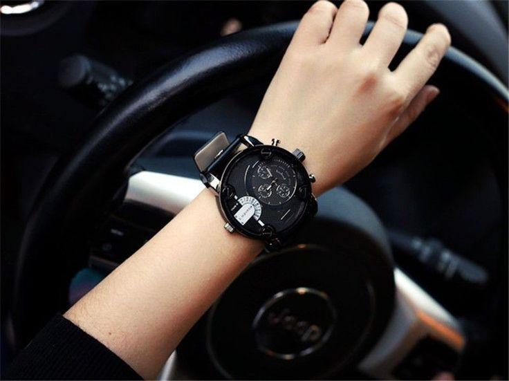 Brand Men Dz Relojes Quartz Watch Reloj Hombre Leather Strap Men'S Watches Dz Watch Men'S Military Clock Sports Watches
