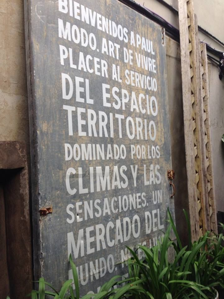 Paul French Gallery, VINTAGE PALERMOS, BUENOS AIRES