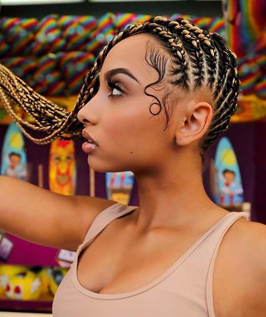 6b51333c752 61 Best Lemonade Inspired Braids | StayGlam Hairstyles | Lemonade ...