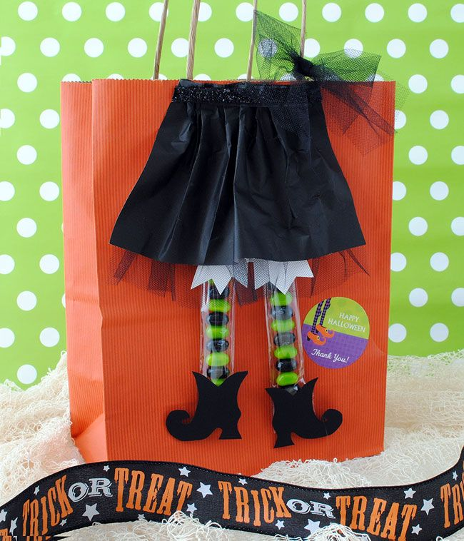 7 best Gift Bag Ideas images on Pinterest Gift bags, Food gifts - halloween treat bag ideas