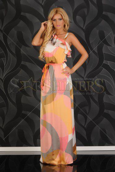 Rochie PrettyGirl Fantasy Orange
