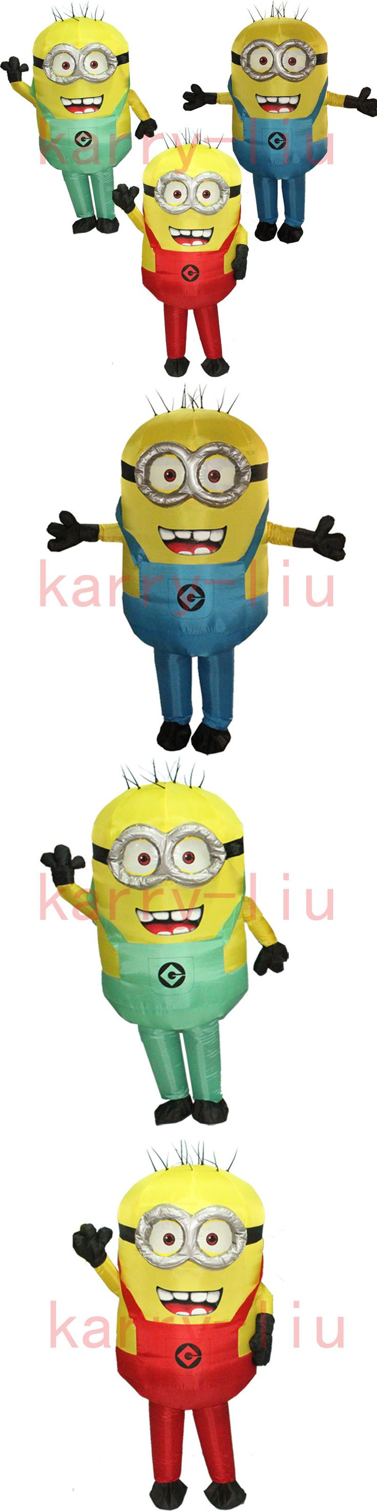 Inflatables 177759: Minions Inflatable Jumpsuit Blow Up Body Halloween Cosplay Walking Costume Adult -> BUY IT NOW ONLY: $48.99 on eBay!