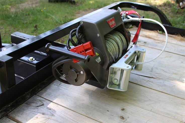 utility trailer winch Projects Utility trailer