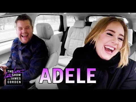 Pin for Later: 21 Times Adele Made You Laugh So Hard That Your Stomach Hurt When She Paired Up With James Corden For an Epic Carpool Karaoke Session