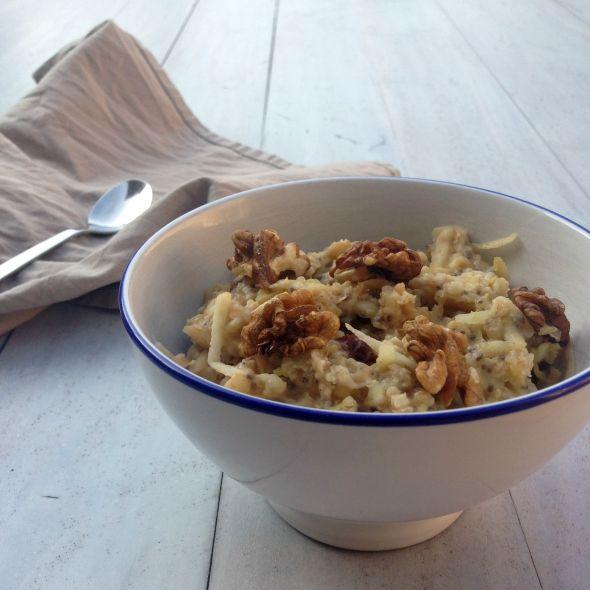 I Love Health | Chia apple pie oats || ontbijten met appeltaart! | http://www.ilovehealth.nl