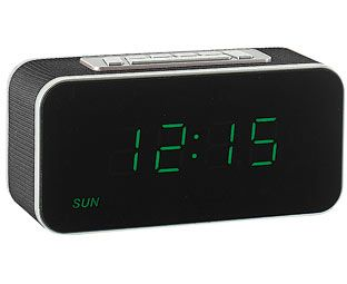 Original Gift Company Digital Clock Radio, Burgundy They've been making mornings more bearable since the '70s and digital clock radios like this now have classic design status. With easy-to-read LED numbers, snooze function, day and date display, plus  http://www.MightGet.com/february-2017-2/original-gift-company-digital-clock-radio-burgundy.asp