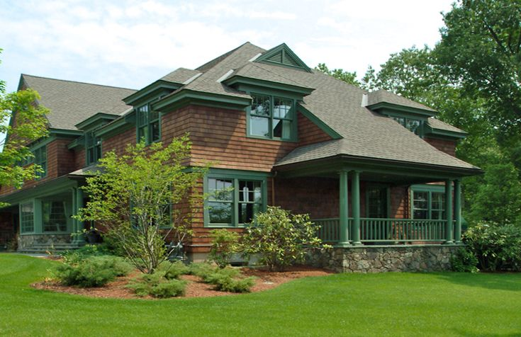 17 best images about shingle style architecture on for Modern shingle style architecture
