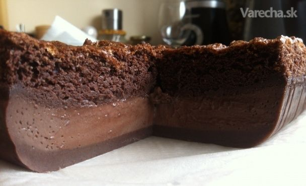 Gâteau magique alebo zázračný koláč - Recept