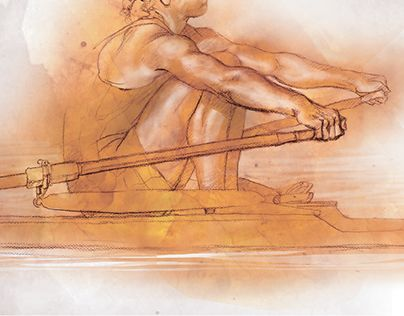 """Check out new work on my @Behance portfolio: """"Olympics (Beijing,2008): Rowing""""…"""