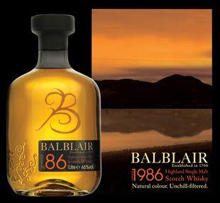 Balblair 1968 whisky from Whisky Please.
