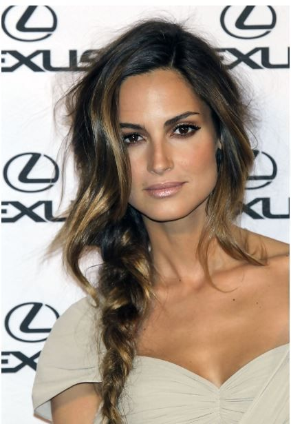 A chic braid - the simple way too look fierce at any holiday party (and a great way to disguise 3rd day hair!)