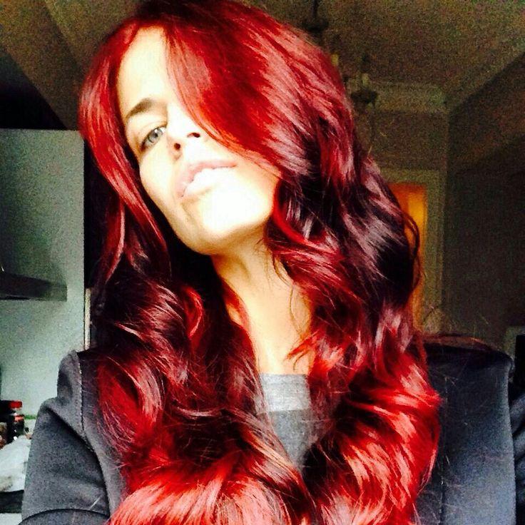 My work#hairstyles#hairfun #hair#redhair