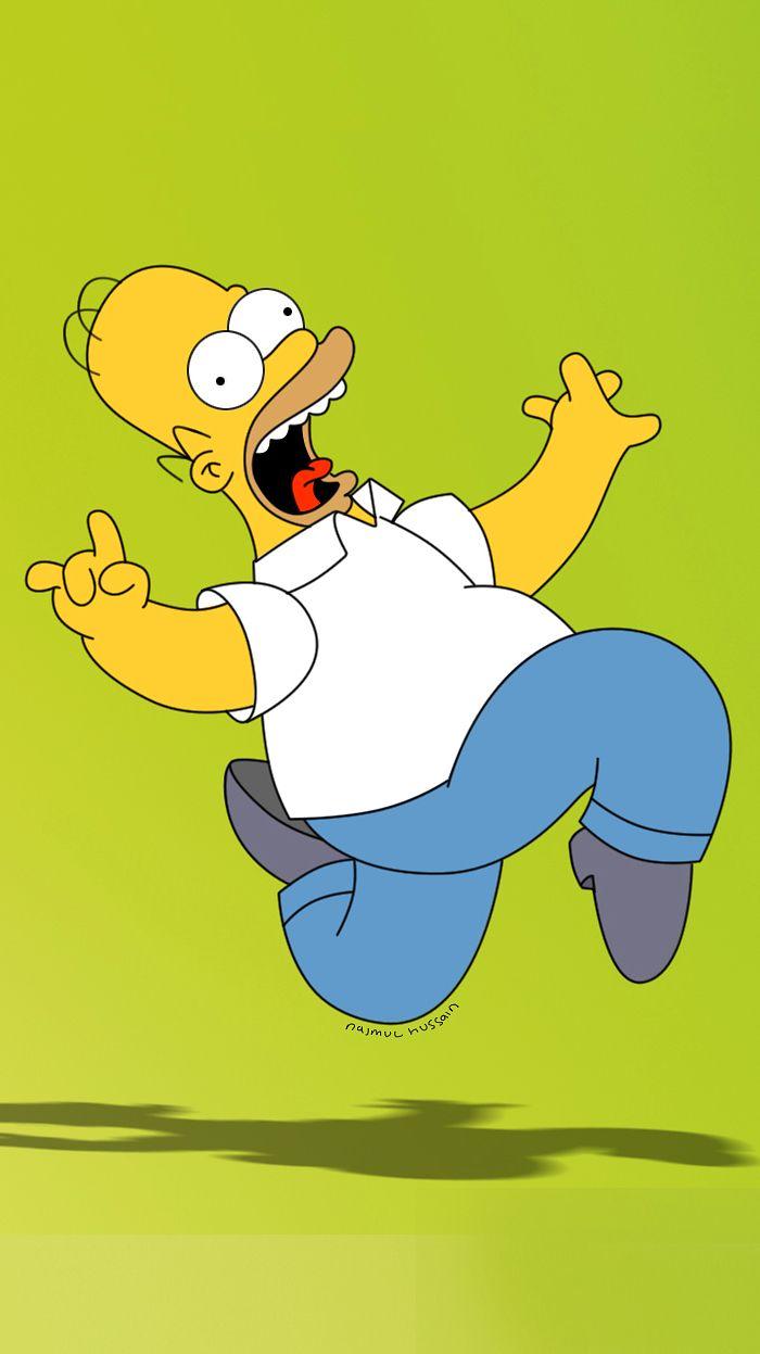 Homer Simpson iPhone 5 wallpaper