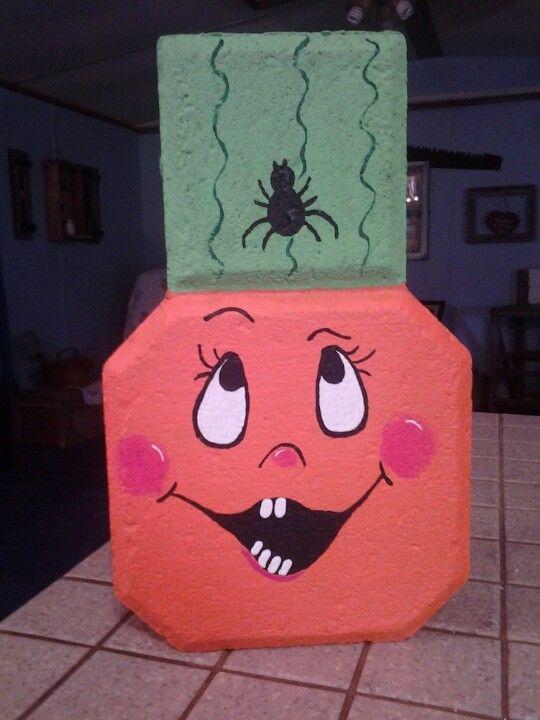 Pumpkin paver