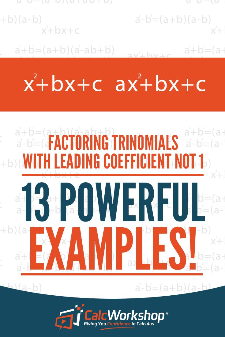 Best 25 write in standard form ideas on pinterest standard form factoring trinomials terrific video lesson that will allow you to factor quadratic trinomials with leading falaconquin
