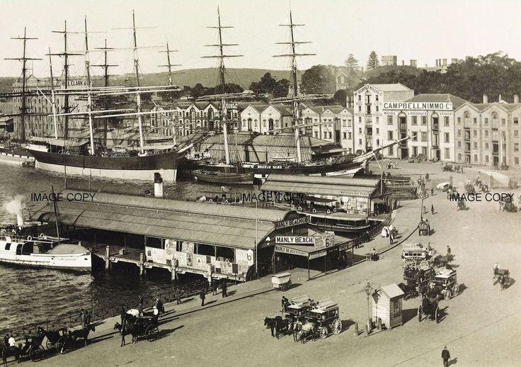 Circular Quay, Sydney c1880 Australia