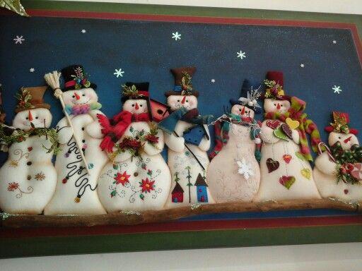 Nieve en navidad!!
