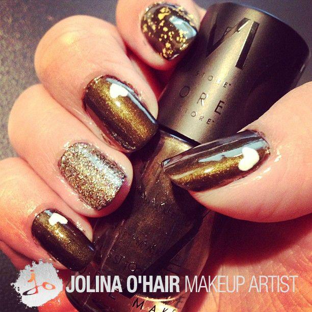 Make Up Store 'Celebration' Nail Art