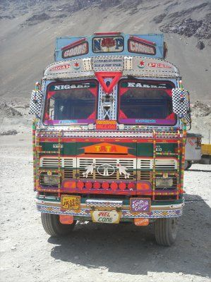 Indian truck decoration