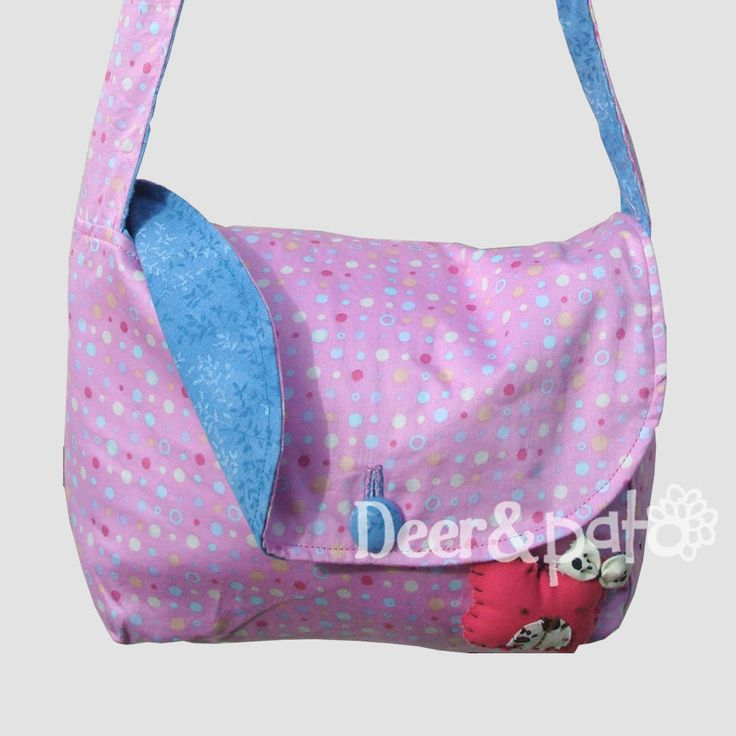 Double sided girl's bag