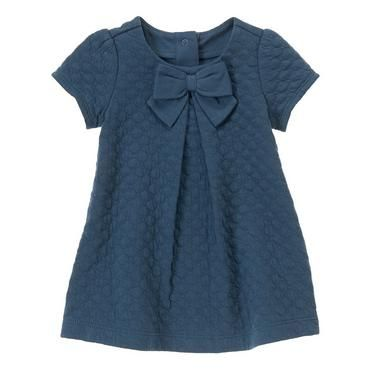 Quilted Bow Dress