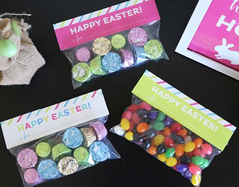 55 best easter ideas images on pinterest easter ideas easter cute easter treat bags and free printables you can re create party favors and negle
