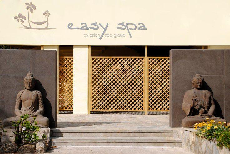 Easy Spa Entrance#Buddha#Easy Spa by Asian Spa Group#Gouvia#Corfu