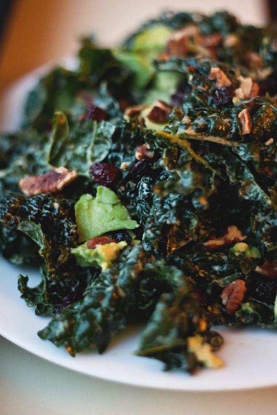 Conscious cleanse kale salad.