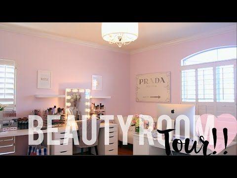Beauty Room Tour | #HOUSETOHOME Ep. 8 - YouTube