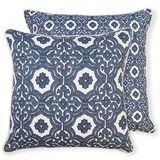 Marais Blue Cushion