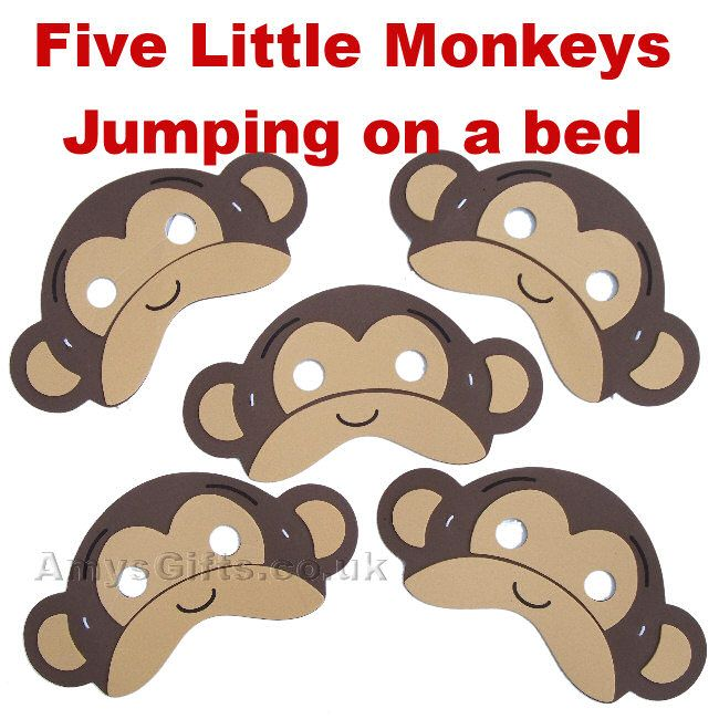105 best images about five little monkey jumping on the