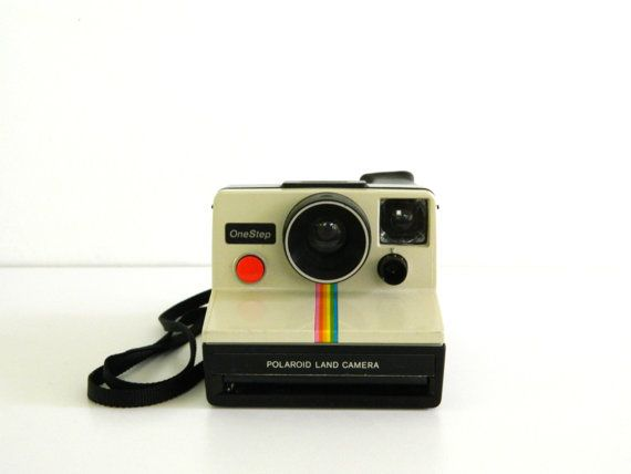 Vintage Polaroid One Step Land Camera by Rustage on Etsy, $19.00