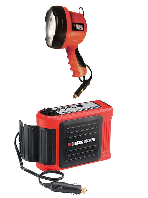 Win a Black & Decker Simple Start Booster and Halogen Light For Your Car