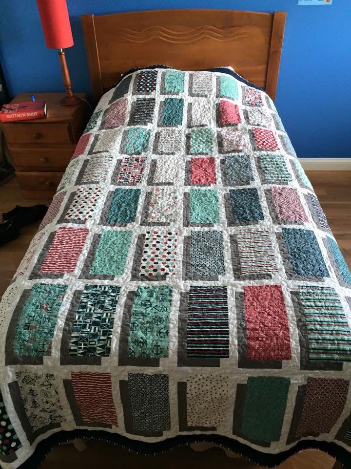 Quilt Number 5 Missouri Star Illusion Block Quilt Using
