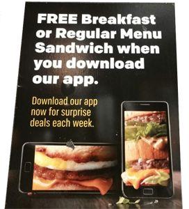 FREE Breakfast or Regular Menu Sandwich at McDonald's (Update) on http://hunt4freebies.com